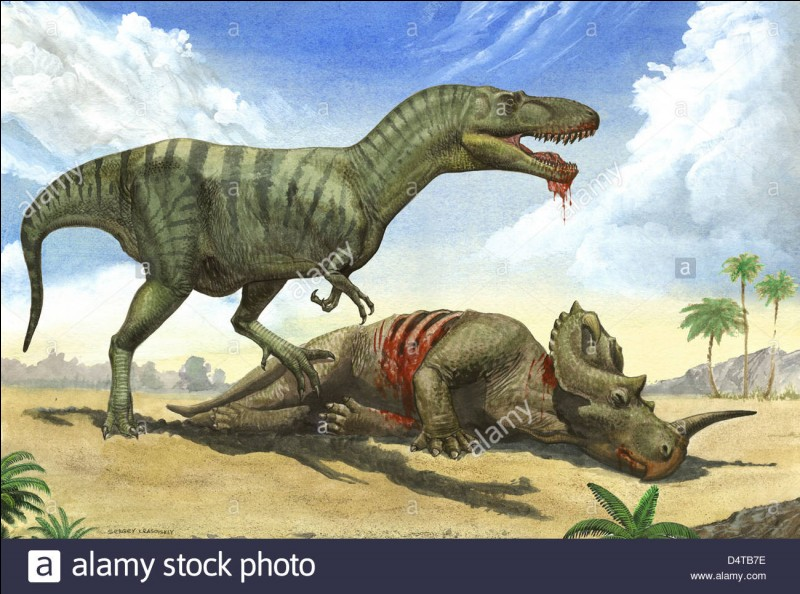 Le gorgosaure, son nom signifie...