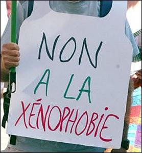 """Quelle est la définition de """"xénophobie"""" ?"""
