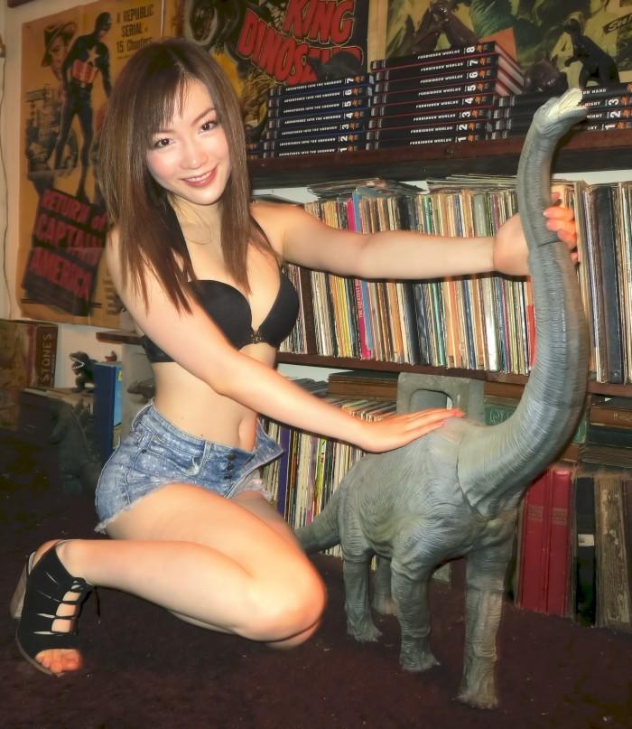 Jolies filles & dinosaures (1)