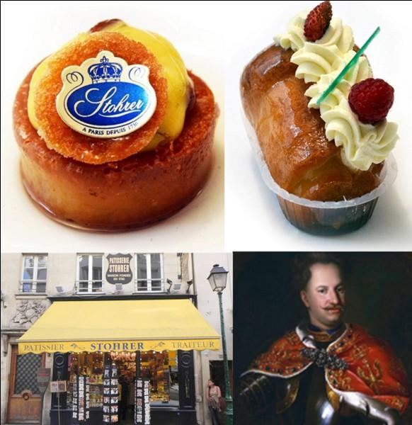 Allons au « 51 rue Montorgueil » !Ce lieu est important dans le monde de la gastronomie française et polonaise. Le pâtissier Stohrer suivit Marie Leszczyńska pour son mariage avec Louis XV. Egalement, il a fondé une pâtisserie à Paris qui est actuellement la plus ancienne de Paris. En plus, il a inventé une pâtisserie célèbre.Quelle est-elle ?