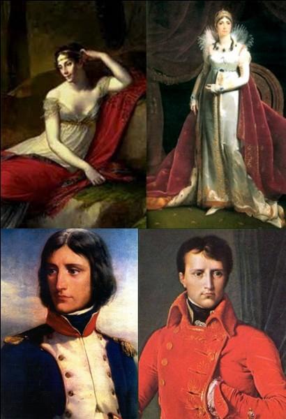Allons « rue d'Autun » !Le 9 mars 1796, dans un hôtel particulier, qui servait de mairie annexe, un mariage est célébré ! Il unit deux personnes qui marqueront l'histoire de France ! Un jeune homme se marie avec une certaine « Marie-Josèphe Rose de Tascher de la Pagerie ».Sous quels noms seront-ils immortalisés ?