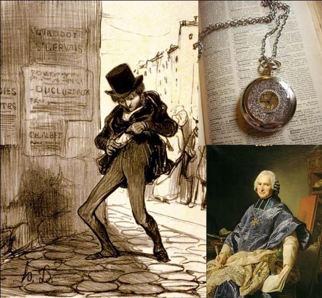 Allons « rue du Vieille-Doucet » !Ce n'est pas son nom actuel… Elle a repris son nom d'origine !Comme certaines rues de Paris, elle subissait la criminalité très importante. Certaines caricatures le démontrent ! Si vous tenez à votre montre, faite attention !Mais quel est son nom actuel ?