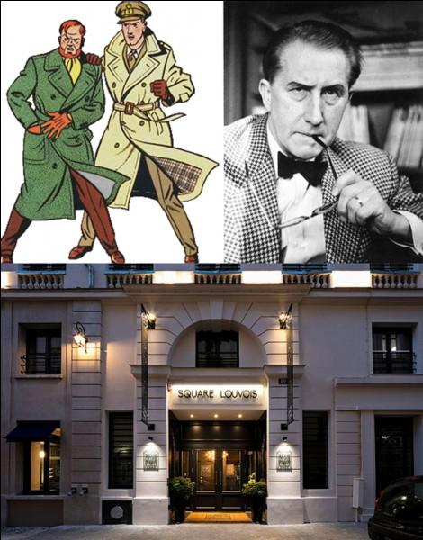 Allons au « 12 rue de Louvois » !C'est le lieu où vous trouverez, selon l'auteur, l'hôtel Louvois. Cet hôtel accueille régulièrement deux personnes qui ne sont jamais venues, réellement, en ce lieu (et qui, physiquement) ne le pouvait pas !Qui sont-ils ?