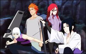 Qui est recrutée dans l'équipe de Sasuke nommée Hebi ?