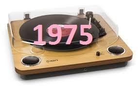 L'année 1975 en musique !