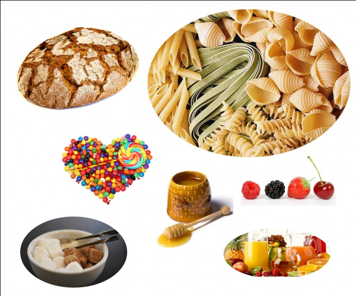 Quizz les constituants alimentaires quiz aliments - Quels sont les aliments pauvres en glucides ...