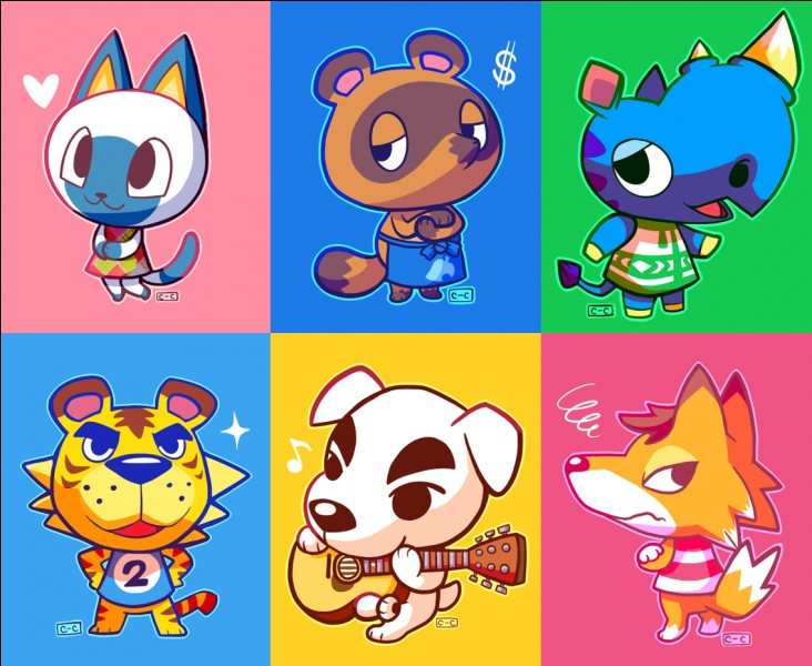Quels animaux n'existent pas dans Animal Crossing ?