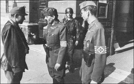 Croix fléchées&; la milice du coin durant la seconde guerre mondiale