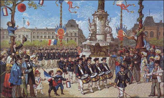 Qui était Président de la République lorsque le 14 juillet devient fête nationale ?