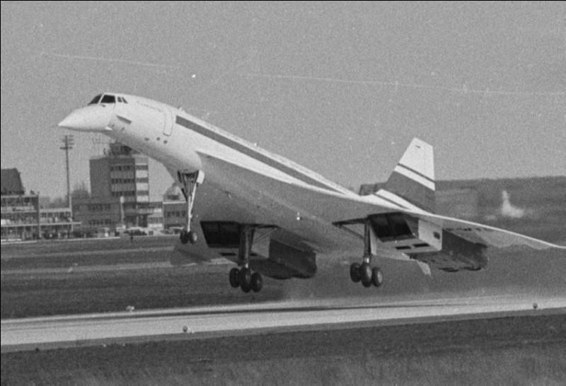 Qui était Président de la République lors du premier vol de Concorde ?
