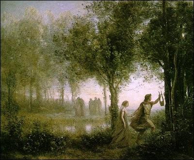 C'est par amour qu'Orphée descendit la rejoindre aux Enfers :