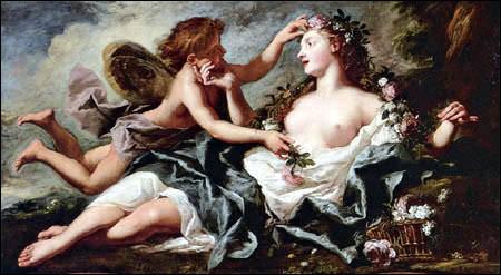 Qui Zéphir eut-il pour maîtresse dans la mythologie romaine ?