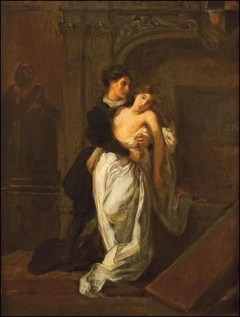 Qui a peint Roméo et Juliette devant le tombeau des Capulet ?