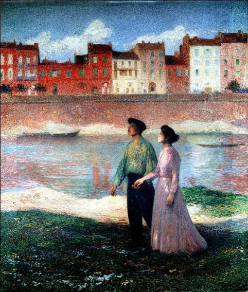 """Qui a représenté """"Les amoureux sur les bords de la Garonne"""" ?"""