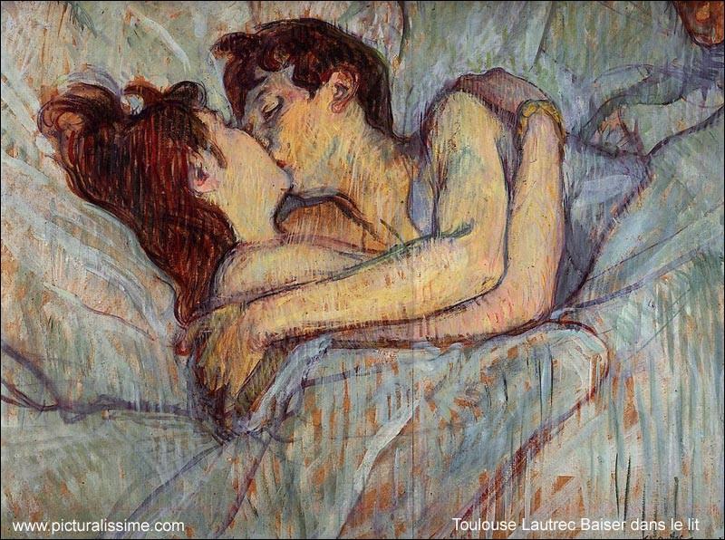 """Qui a peint """"Le baiser"""" ?"""