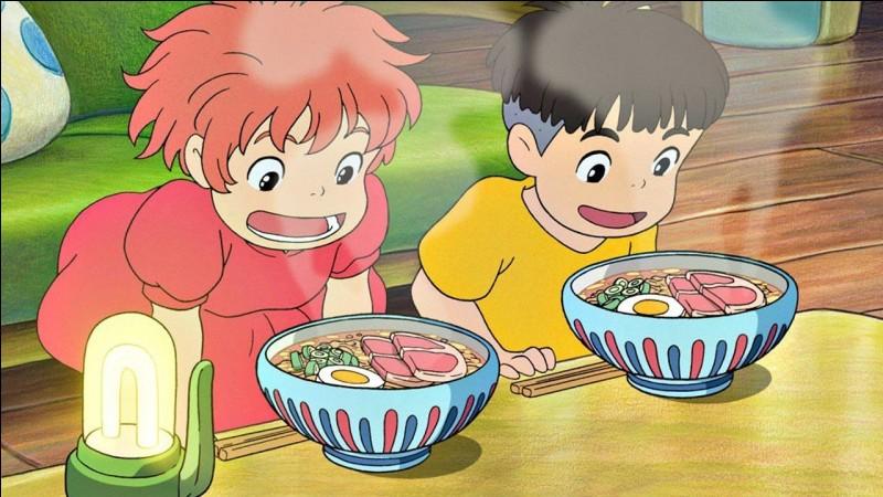 Pourquoi Ponyo devient-elle humaine ?
