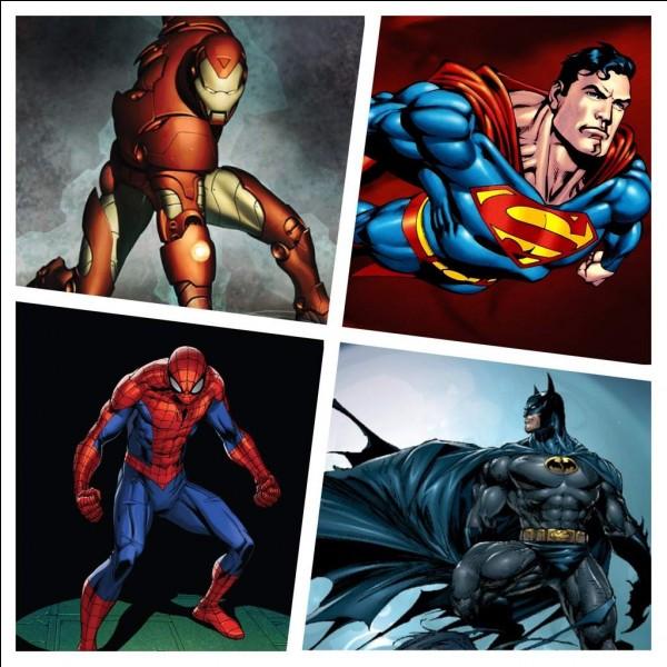 Lequel de ces super-héros préfères-tu ?