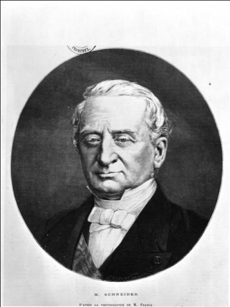Quel neveu d'un général fut le créateur du développement industriel du Creusot au XIXe siècle ?