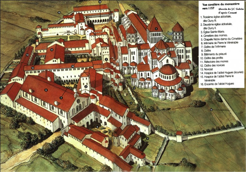 Qui fonda le monastère de Cluny en 910 ?