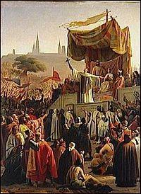 En 1146, de quel haut lieu monastique la deuxième croisade fut-elle lancée ?