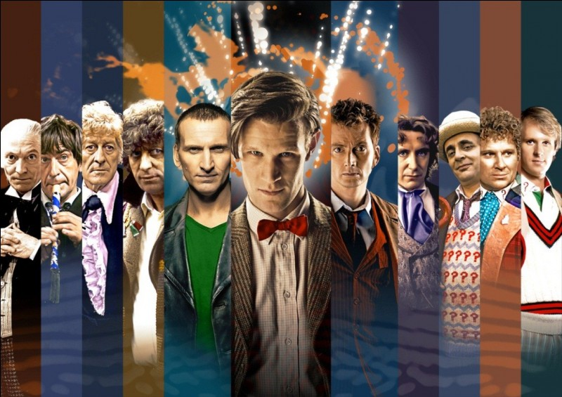 """Dans """"Docteur Who"""", l'extraterrestre dit """"le docteur"""" est originaire..."""