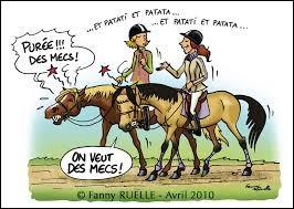 À Raton, dans quelle tenue les femmes n'ont-elles pas le droit de faire du cheval ?