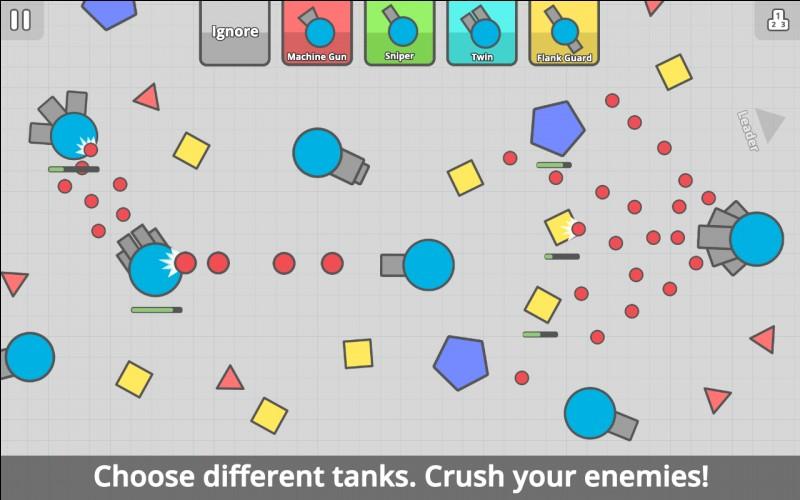 Quel est le tank qui possède une petite portée ?