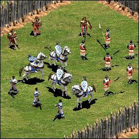 Qui remporte cette bataille ? janis+cav / pik+guerriers celtes