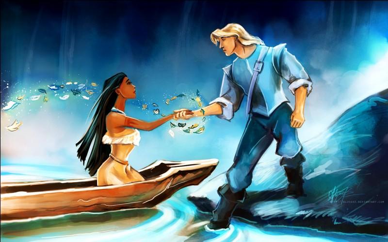 Quelle chanson Pocahontas chante-t-elle à John Smith pour lui faire découvrir sa façon de vivre ?