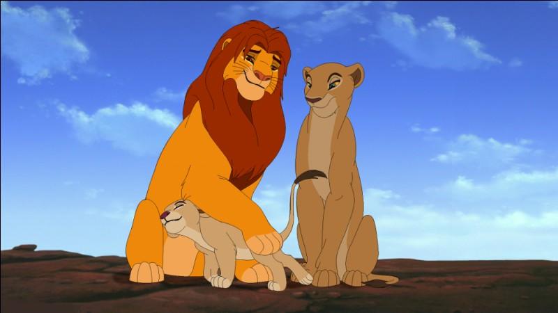 Comment s'appelle la fille du couple Nala et Simba ?