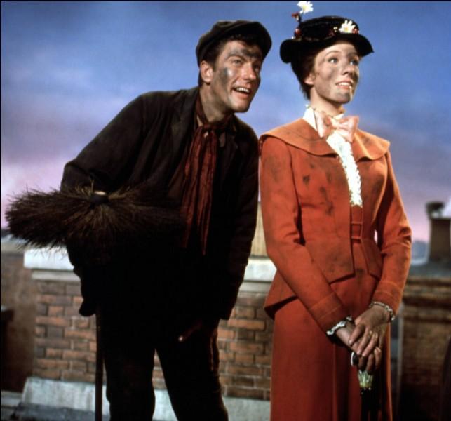Comment s'appellent le héros et l'héroïne qui ont fait découvrir aux enfants de Mr Banks des choses merveilleuses ?