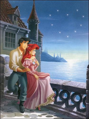 Quel est le nom du prince qui a réussi à conquérir sa princesse sirène originaire d'Atlantica ?