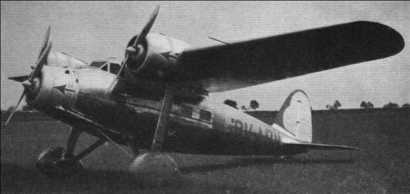 Ce petit trimoteur tchèque pouvait transporter 6 passagers. De quel avion s'agit-il ?