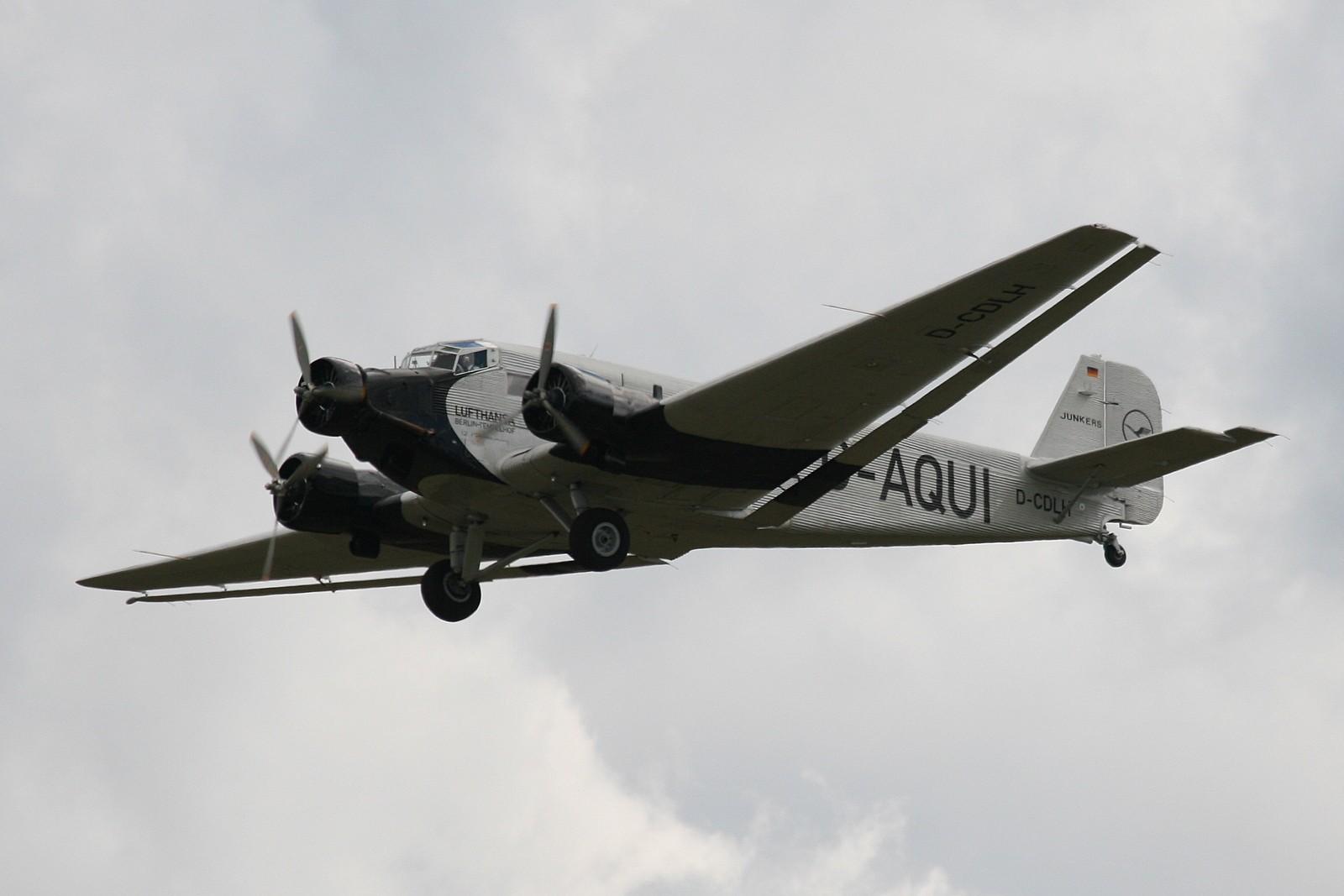 Avions : les trimoteurs