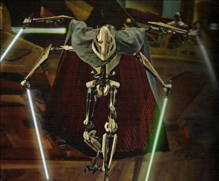 Qui est le cyborg kaleesh à quatre bras qu'Obi-Wan a affronté sur Utapau ?