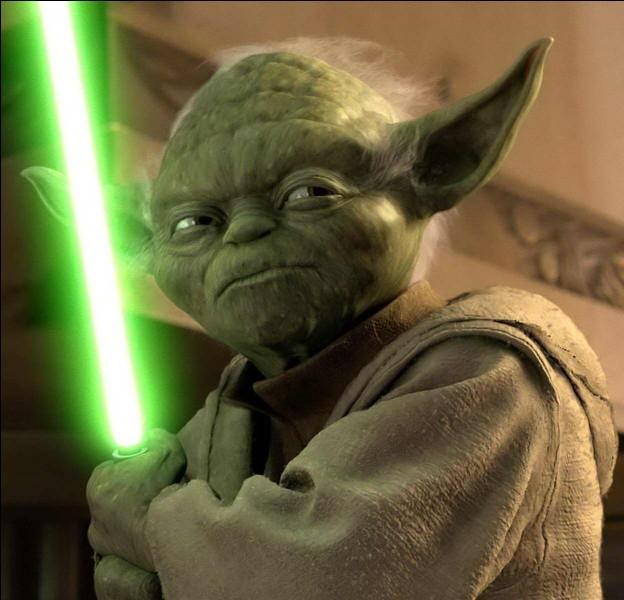Comment s'appelle ce petit maître Jedi vert et vieux ?