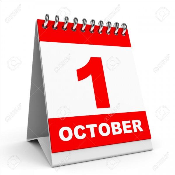 Quel pays n'a pas sa fête nationale le 1er octobre ?