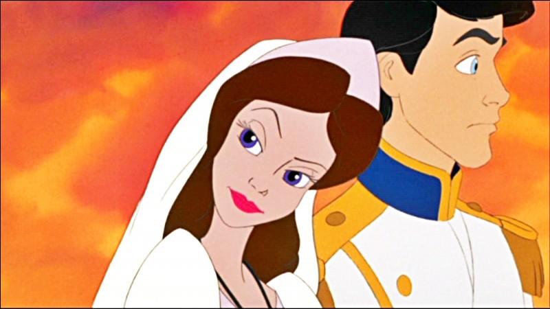 Qui se transforme en femme pour se marier avec Éric ?