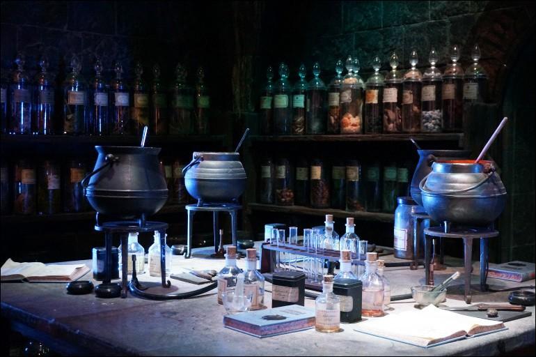 Quelle est la première potion que Harry réalise durant sa première année ?