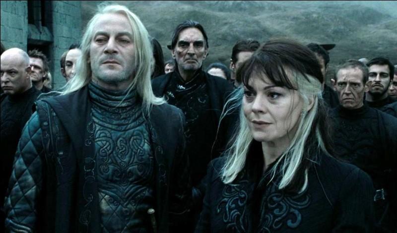 Vrai ou faux ? Comme celui de sa femme, le nom de famille de Lucius est Black.