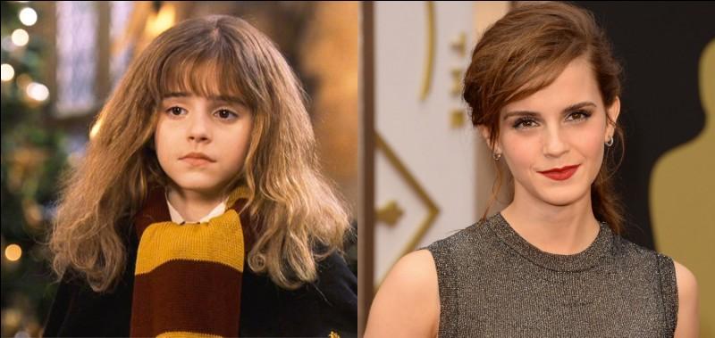 En quelle année Hermione est-elle née, de quel sang est-elle et qui est l'actrice qui joue son rôle ?