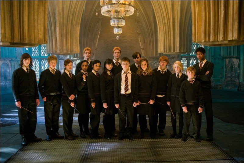 """Dans """"Harry Potter et l'ordre du Phoenix"""", où voit-on pour la première fois le patronus d'Hermione et qu'est-ce ?"""