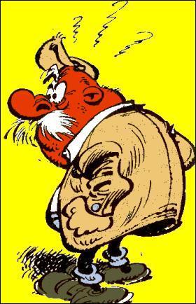 Quel est le prénom de cet agriculteur, souvent ennuyé par les virées de Gaston et de son ' Gaffophone' ?