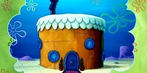 Les maisons dans 'Bob l'éponge'
