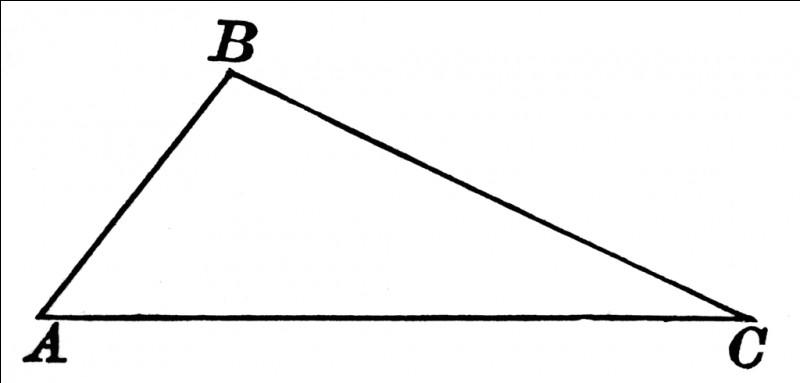 Dans le triangle ABC, si : AB = 3 cm / BC = 4 cm / AC = 5 cmLe triangle ABC est-il rectangle ?