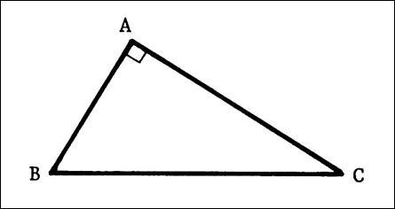 Dans le triangle ABC, rectangle en A, si : AB = 33 cm / AC = 56 cmQuelle est la longueur de BC ?
