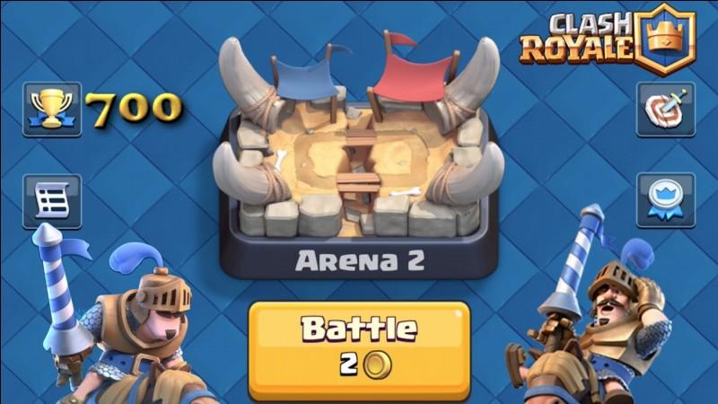 Comment s'appelle l'arène 2 ?