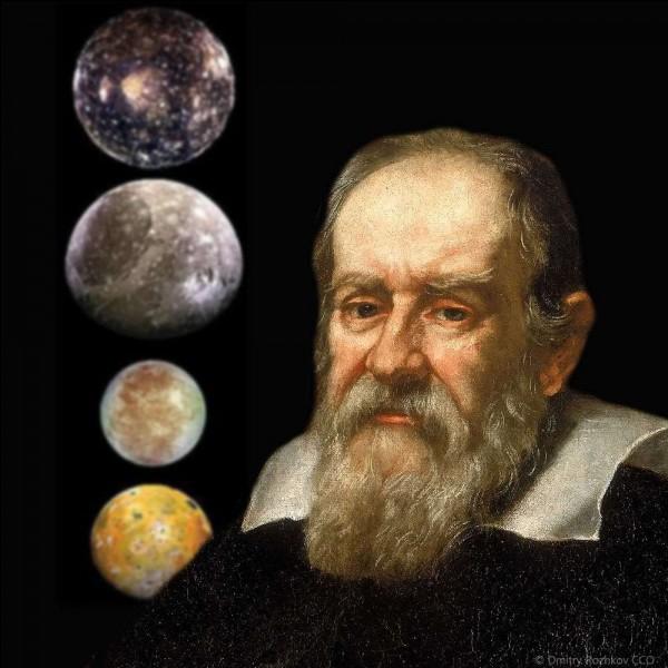 Io, Europe, Ganymède et Callisto ont été découverts par Galilée.