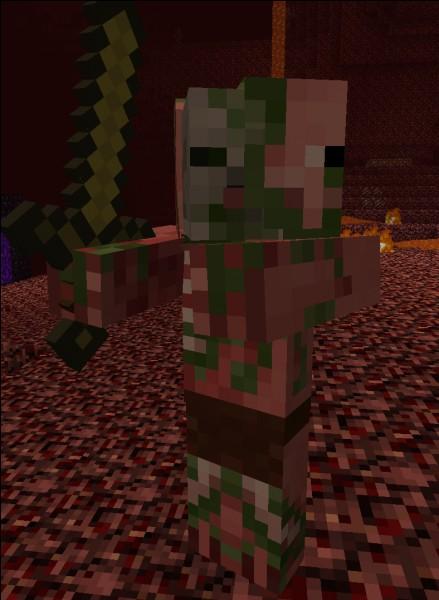 Vrai ou faux - Les zombies Pigmen ne vous attaquent que si vous les attaquez.