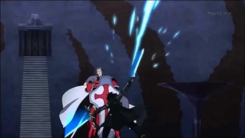 Qu'est-ce qui permet à Heathcliff de gagner contre Kirito lors de leur premier duel ?